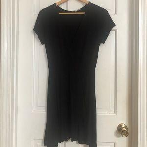 Rolla Coaster Black Asymmetrical Front Dress